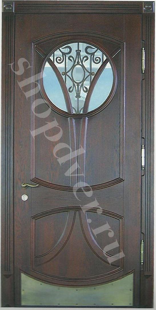 металлические двери со стеклопакетом и ковкой оптом в москве