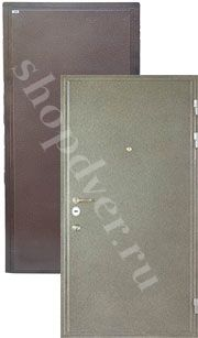 Металлические технические двери Металл с 2-х сторон в порошковом напылением