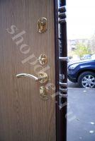 Металлические двери порошковый окрас+ламинат